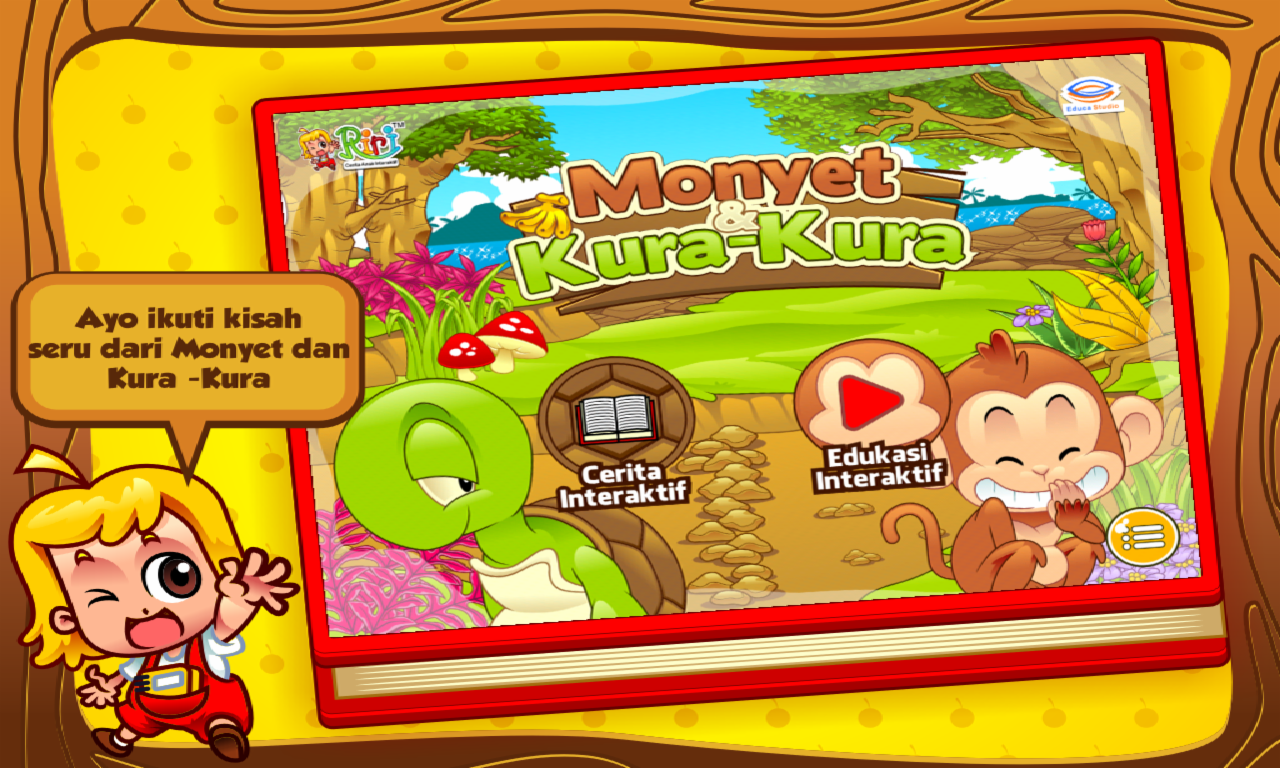 Cerita Anak Monyet Dan Kura Android Apps On Google Play