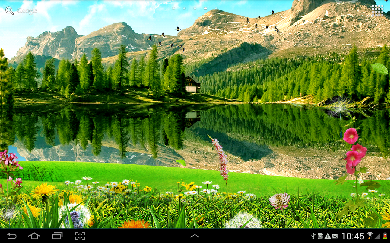 Landscape Wallpaper Mountain Landscape Wallpaper
