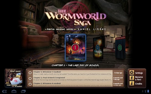 The Wormworld Saga - screenshot thumbnail