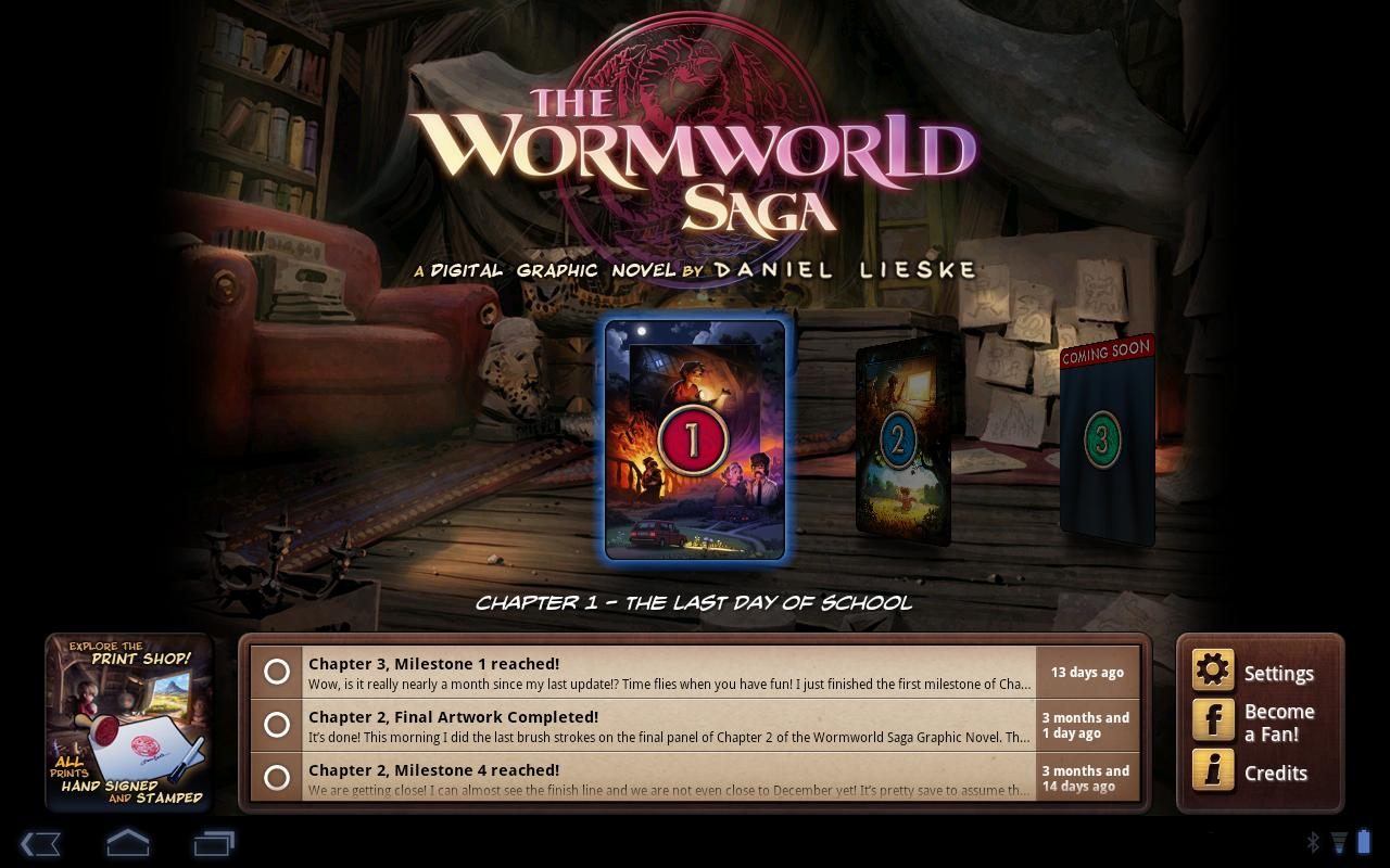 The Wormworld Saga - screenshot