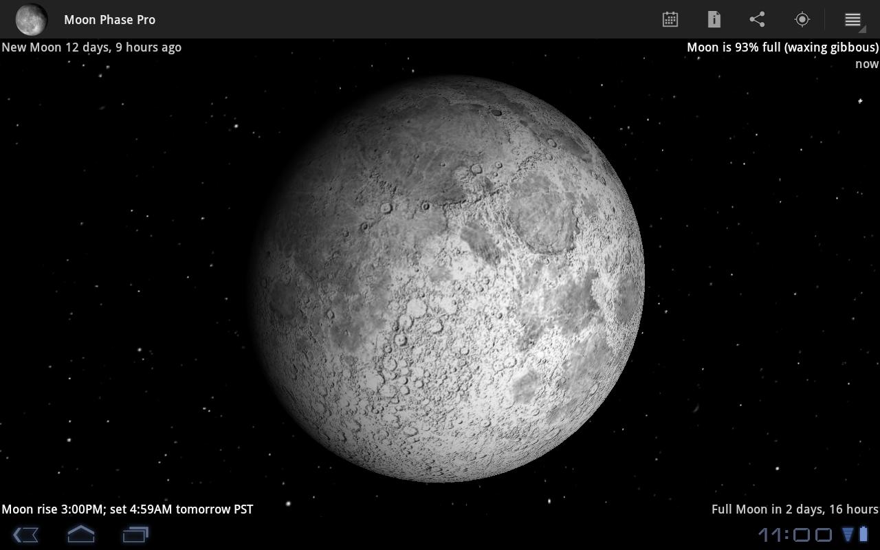 Moon Phase Pro - screenshot