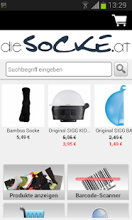 dieSocke.at Socken- screenshot thumbnail