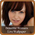 Beautiful Woman Live Wallpape logo
