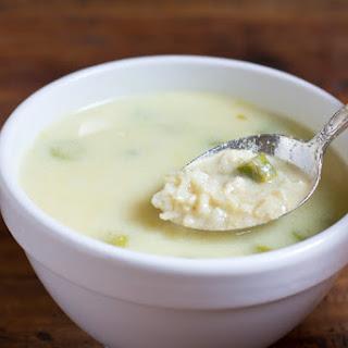 Greek Lemon Rice Soup
