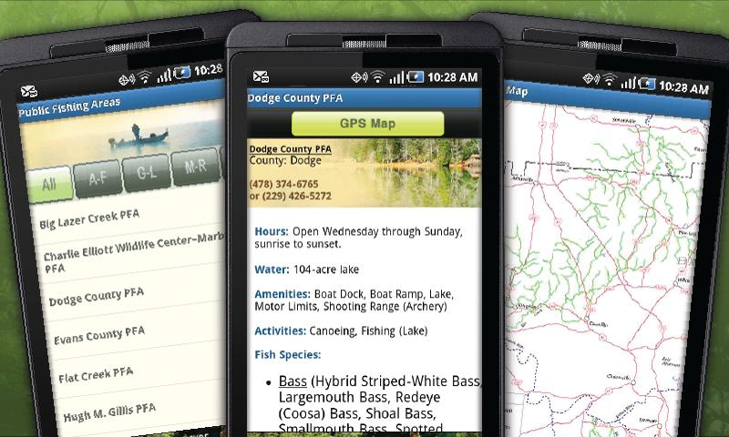GA Fish & Wildlife Guide - screenshot