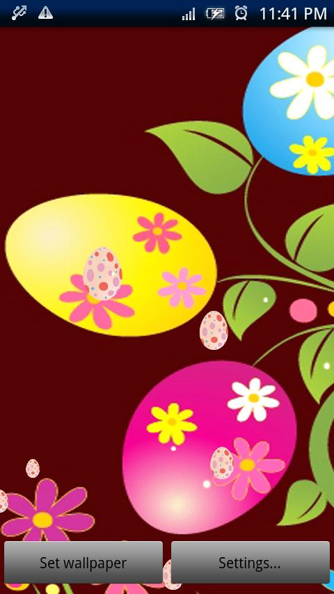 Easter Live Wallpaper Pro - screenshot