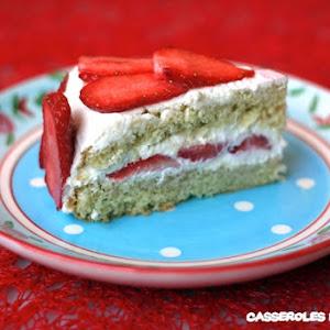French Strawberry Shortcake