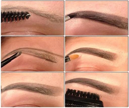 DIY Eyebrows Step by Step