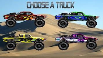 Screenshot of Baja Trophy Truck Racing