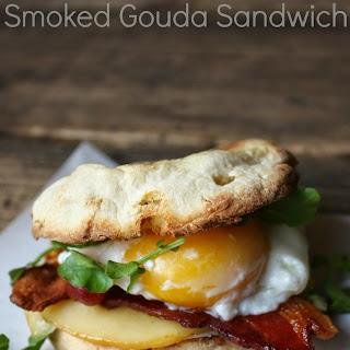 Bacon, Egg, and Smoked Gouda Sandwich