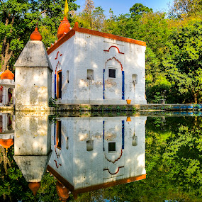 Amidst nature by Ankur Chaturvedi - Buildings & Architecture Other Exteriors ( reflection, india, travel )