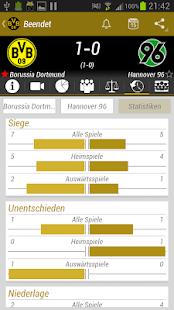 Borussia Dortmund BVB App - screenshot thumbnail