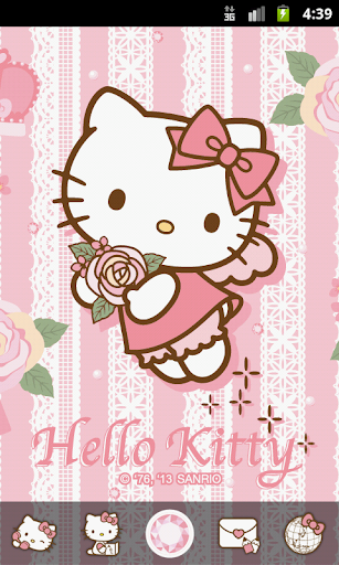 Hello Kitty Rose for You Theme