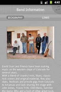 The David Starr Band - screenshot thumbnail