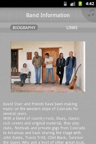 The David Starr Band - screenshot