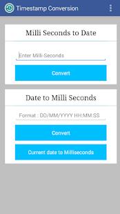 Timestamp Conversion screenshot
