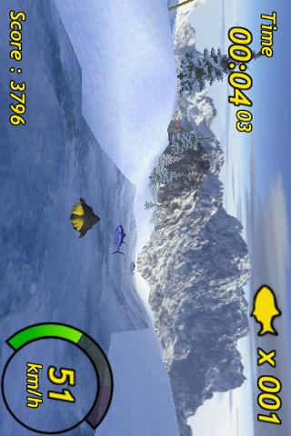 Tux Rider- screenshot