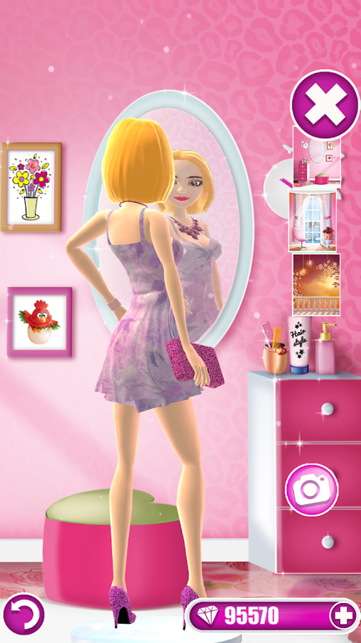 dress up salon games for girls android apps on google play. Black Bedroom Furniture Sets. Home Design Ideas