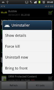 Android Task Killer Free - screenshot thumbnail