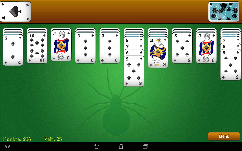 Spider Solitaire spielen - Gratis online Kartenspiel ...