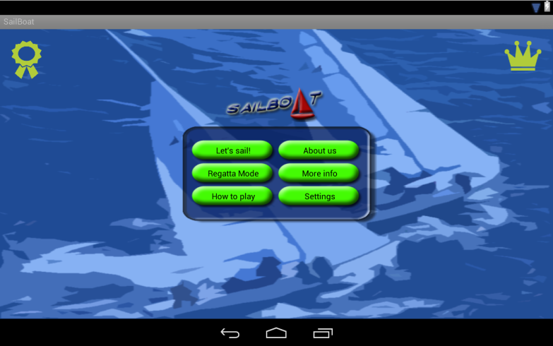 Sailboat- screenshot