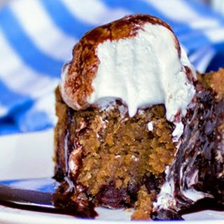 Pumpkin Chocolate Chip Pizookie