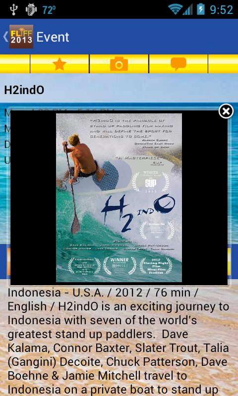 FLIFF 2013 - screenshot