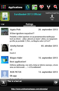 Slovenija Android - screenshot thumbnail