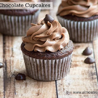 Paleo/Gluten Free Chocolate Cupcakes.