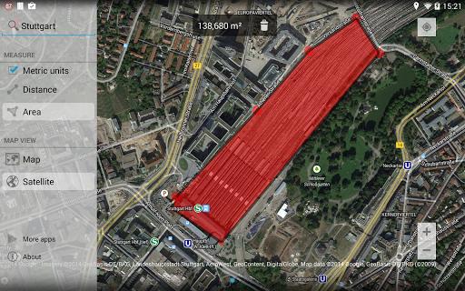 Maps Measure 1.4.2 screenshots 7