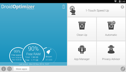 Droid Optimizer 2.1.6 screenshots 9