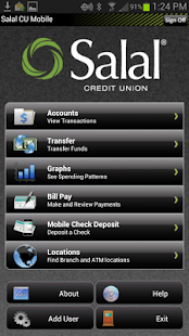 Salal CU - Mobile Banking - screenshot thumbnail
