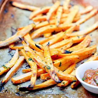 Curry-Spiced Sweet Potato Fries