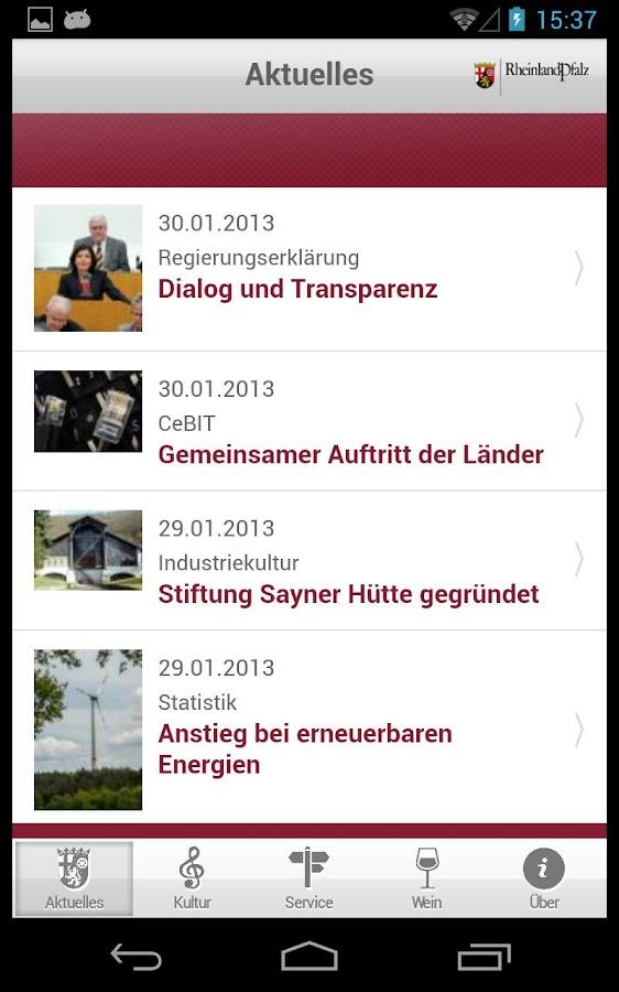 Rheinland-Pfalz - screenshot