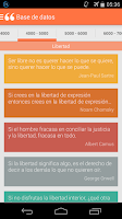 Screenshot of QuoteBook: Spanish Quotes