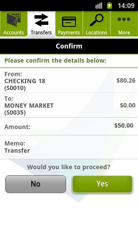 Delta Community Mobile Banking - screenshot