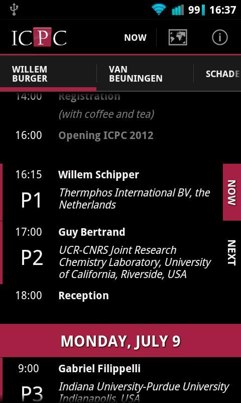 ICPC 2012- screenshot