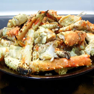 Garlic Crab Legs.