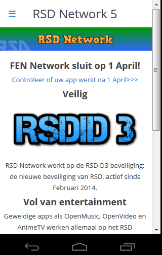 RSD Network