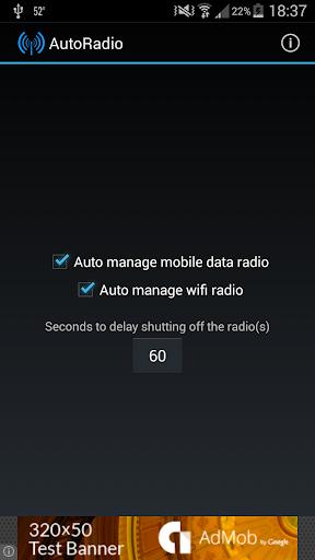 AutoRadio Battery Saver