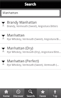 Screenshot of iBartender Drink Recipes Free
