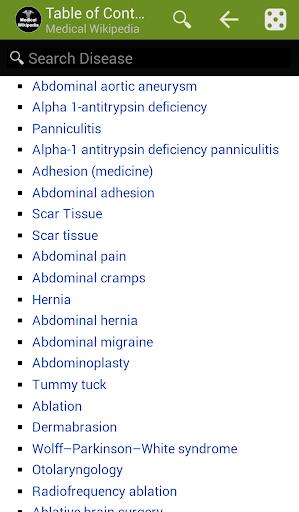 Offline Medical Wikipedia  screenshots 5