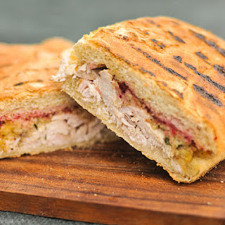 Grill-Pressed Thanksgiving Leftover Panini