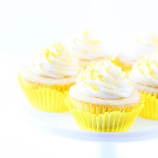 Lemon Curd Cupcakes.
