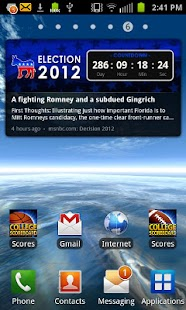 Election 2012 Countdown Dem - screenshot thumbnail