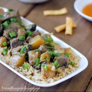 Slow Cooker Pineapple Beef Teriyaki Recipe
