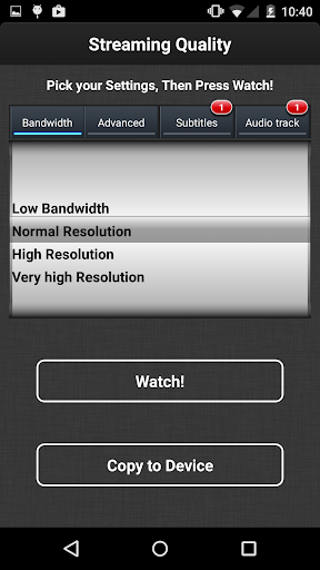 VLC Streamer Free 2.42 (3156) screenshots 4