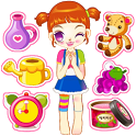 Girl Clean Room icon