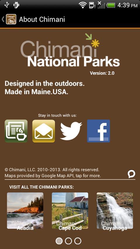 Chimani National Parks - screenshot