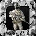 Military Photo Montage Icon